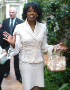 Oprah Winfrey has a 4 destiny number